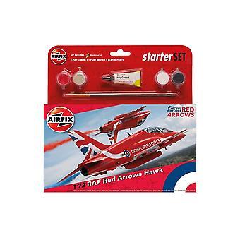 RAF Punaiset nuolet Hawk 1:72 Air Fix Keskikokoinen Aloitussarja
