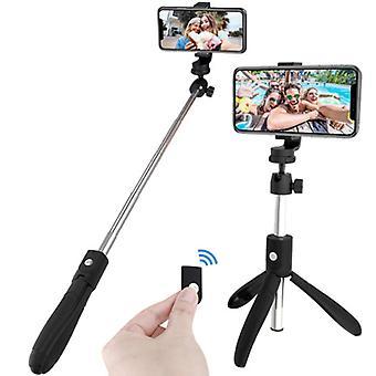 3 en 1 Selfie Stick Trépied Support Télécommande Bluetooth pour Android / iOS