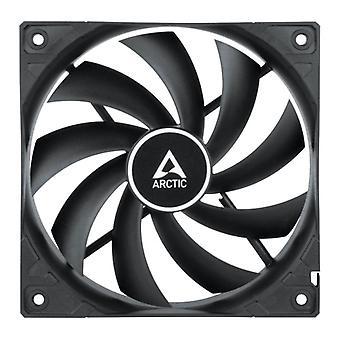 Arctic F12 12cm PWM PST Case Fan, Black, 9 Blades, Fluid Dynamic, 230-1350 RPM, 6 Year Warranty