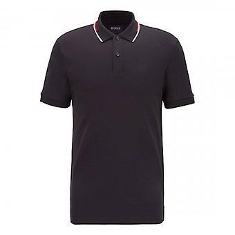 Hugo Boss Parlay 104 Jersey Polo Negro 001 50448657
