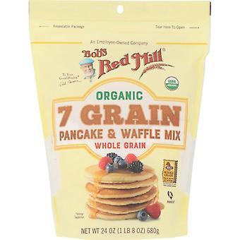 Bobs Red Mill Mix Pncke Wffl 7 Grain, Fodral på 4 X 24 Oz
