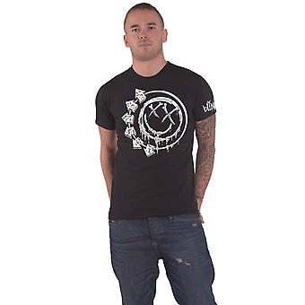 Blink 182 T Shirt Bones Band Logo new Official Mens Black