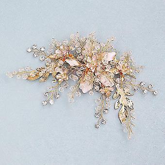 Creative Exquisite Hairpin Hair Peine para novia