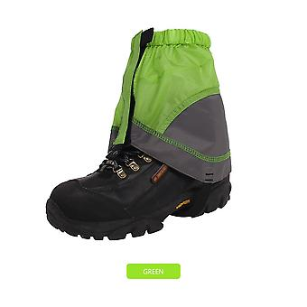 Outdoor silicon coated nylon snow leg gaiters waterproof ultralight legging protection guard shoes boots cover leg hiking climb