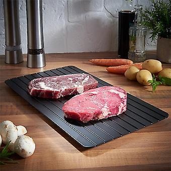 Aluminium Fast Defrosting Tray är ett hälsosamt köksverktyg för snabb upptining av kött