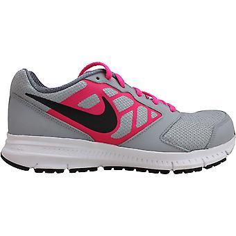 Nike Downshifter 6 Lobo Gris/Negro-Hyper Rosa 685167-007 Grado-Escuela