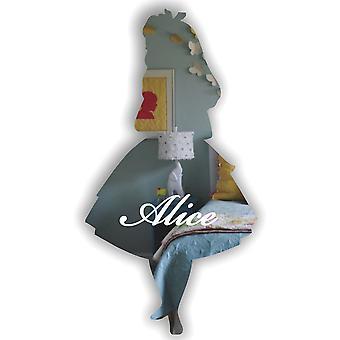 オリジナル不思議の国のアリスは、アクリル ミラーを刻まれました。