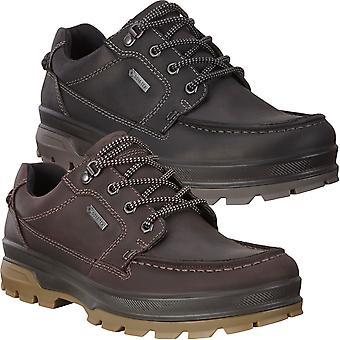 ECCO Miesten kestävä raidallinen pilkka solmio GORE-TEX nahka pitsi ylös kengät