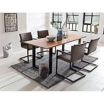 Tomasso's Bolzano Dining Table - Modern - Natural - Acacia - 0 cm x 0 cm x 0 cm