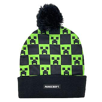 Minecraft, Chapeau avec Gland - Noir / Vert