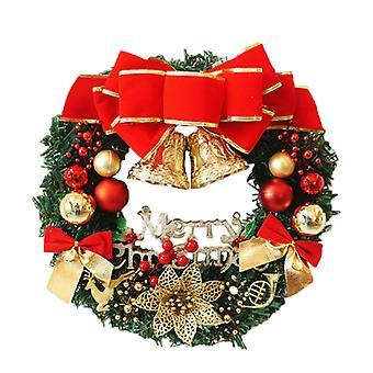 Jouluseppele ikkuna joulu puu oven roikkuva koriste Garland Home Sisustus