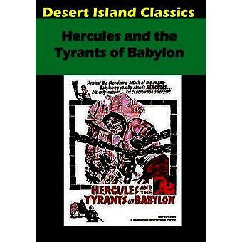 Hercules & the Tyrants of Babylon [DVD] USA import