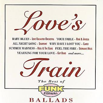 Love's Train - Best of Funk Essentials Ballad [CD] USA import
