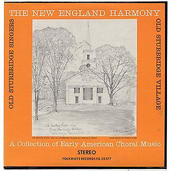 Old Sturbridge Singers - New England Harmony: A Collection of Early America [CD] USA import