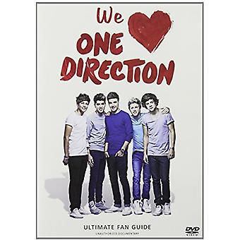 One Direction - importieren wir Liebe One Direction [DVD] USA