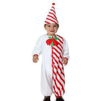 Costumi Baby Baby Candy Cane costume Natale