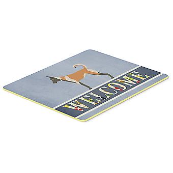 Carolines Treasures  BB8299CMT Malinois Welcome Kitchen or Bath Mat 20x30