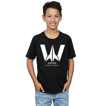DC Comics Boys Justice League Movie Wayne Aerospace T-Shirt
