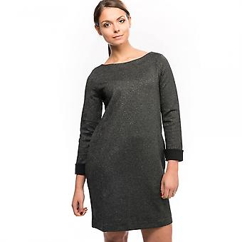 French Connection French Connection Louna Jersey LS Full Emb Womens Dress