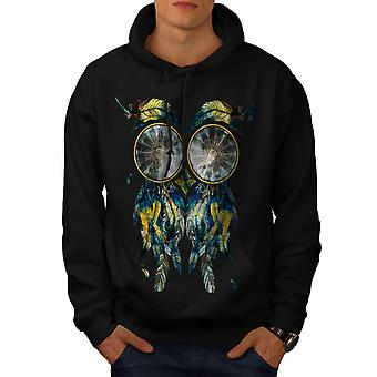 Mooie Dream Catcher mannen BlackHoodie | Wellcoda