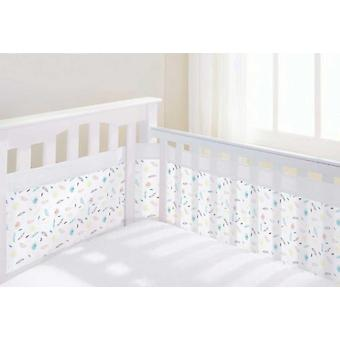 Breathable Baby Mesh Airflow Cot Liner Marabou