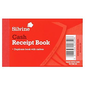 Silvine Duplicate Cash Receipt Book 60 Sheets (Pack Of 36)
