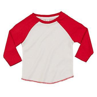 Babybugz Baby Unisex Organic Cotton Baseball T-Shirt