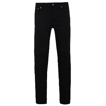 Nudie Jeans Co Grim Tim Dry Cold Black Denim Regular Fit Jeans