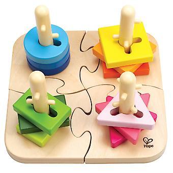 Hape E0411 kreative Peg Puzzle