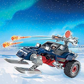 Playmobil Aktion Eis Pirat mit Motorschlitten