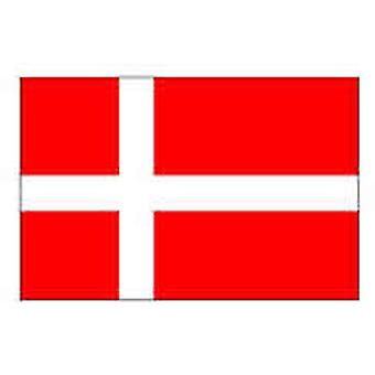 Denmark Flag 5ft x 3ft With Eyelets For Hanging