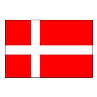 Denemarken 5 ft x 3 ft met oogjes voor hangende vlag