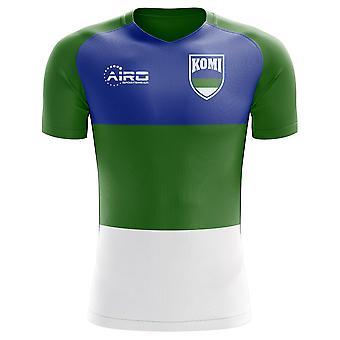 2020-2021 Komi Strona główna Koncepcja Piłka nożna Koszulka