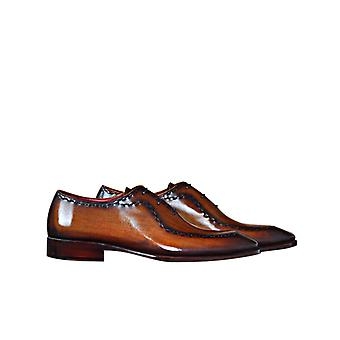 Handcrafted Premium Leather Barem B Oxford Shoe