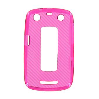 OEM Verizon High Gloss Silicone Case for BlackBerry Curve 9370 (Pink) (Bulk Packaging)