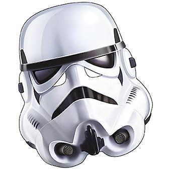 Stormtrooper Star Wars Maske aus Pappe