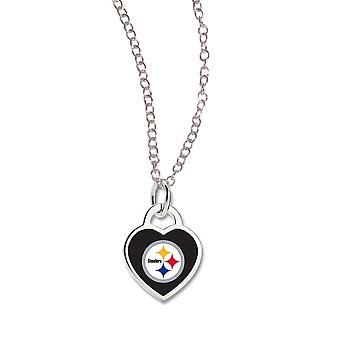Wincraft dames Heart Necklace - NFL Pittsburgh Steelers