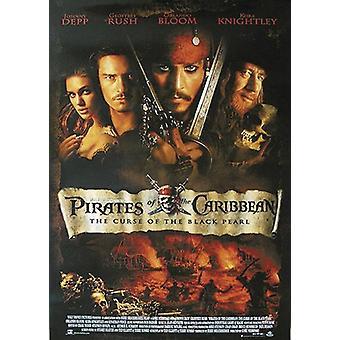 Fluch der Karibik Poster US Regular Johnny Depp, Orlando Bloom, Geoffrey Rush