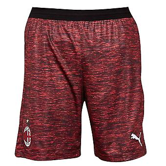 2018-2019 AC Milan Puma Third Shorts (Red)