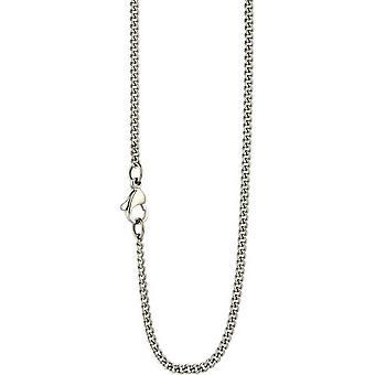 Ti2 Titanium extrafeinen Curb Chain - Silber