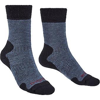 布里奇代尔妇女探险家重量级梅里诺舒适袜子