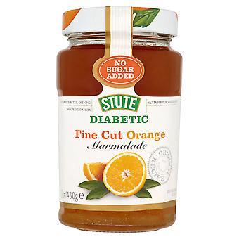 糖尿病の微細カット余分なオレンジママレード