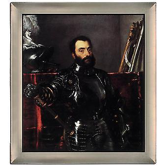 Par Ram Portrait de Francesco Maria della Rovere, Titien, 61x51cm