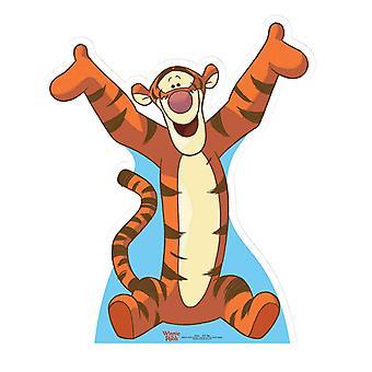 Tigrão - Winnie The Pooh (Disney) - recorte de papelão Lifesize / cartaz
