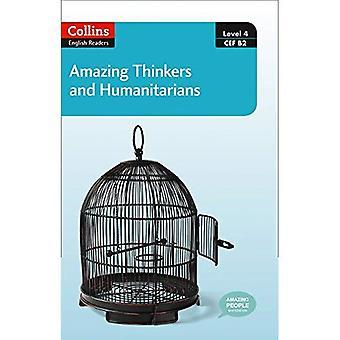 Fantastiska tänkare & humanister: B2 (Collins fantastiska människor ELT läsare)