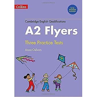 Práctica de pruebas para el A2 volantes (calificaciones de Inglés de Cambridge)