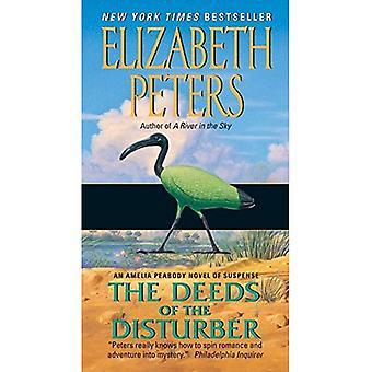 Atti del disturbatore: un romanzo di Amelia Peabody di Suspense