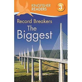 Ijsvogel lezers: Opnemen Breakers - de grootste (niveau 3: lezen alleen met wat hulp) (Kingfisher lezers niveau 3)