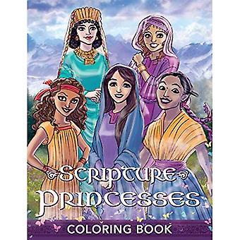 Scripture Princesses Coloring Book