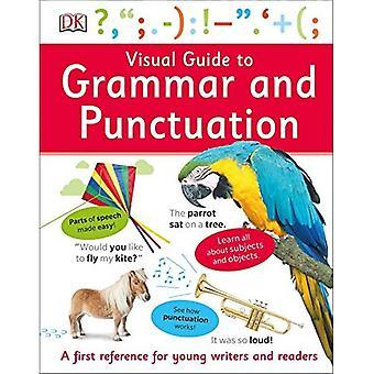 Visuelle Anleitung, Grammatik und Zeichensetzung